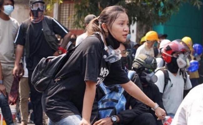 Gadis Myanmar Ditembak Mati